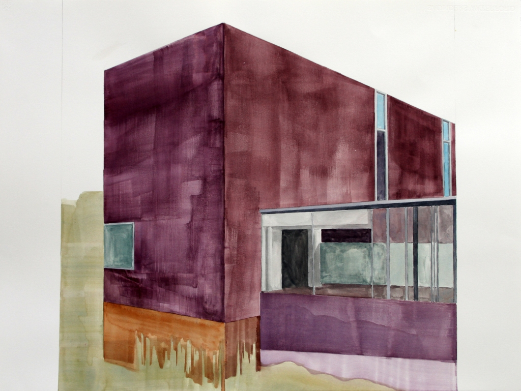'Commune Clubhouse' w:c56x76 cm