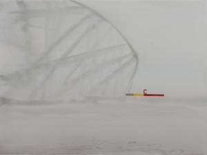 'Entrance C, Bird's Nest' w:c  56x76 cm